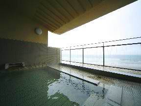 割烹旅館若松 望洋浴殿「花のゆ」露天風呂