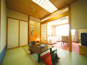 知床プリンスホテル風なみ季 3階以上ではもっとも多く用意された基本タイプの部屋