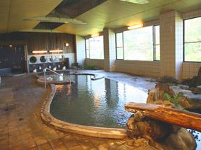 ホテル 後楽荘 殿方大庭園風呂(大浴場)