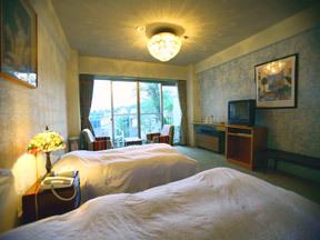 赤倉ホテル テラスから高原を眺めてボーッとしていたい洋室