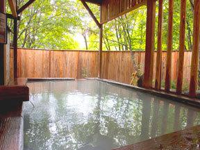 ホテルルーセントタカミヤ 葉がくれの湯(温泉露天風呂)