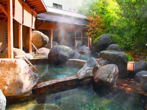 萬国屋 桃源山水(庭園露天風呂「桃里の湯」)