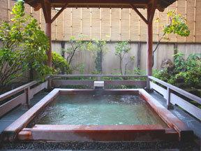 たちばなや 大浴場「湯の里」女湯(露天風呂)