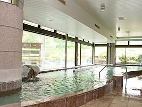ホテル鐘山苑 ご婦人大浴場「赤富士」