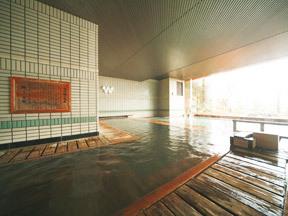 湯守 ホテル大観 大観の湯男湯大浴場(檜風呂)