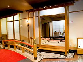 華やぎの章慶山 大浴場前にある湯上り茶屋