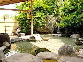 ホテル石風 女性露天風呂