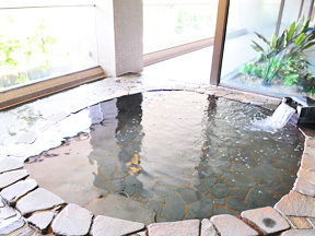 NASPAニューオータニ 大浴場(女湯)、露天風呂