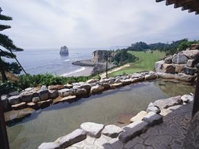 小名浜オーシャンホテル&ゴルフクラブ 雄大な景色が楽しめる露天風呂