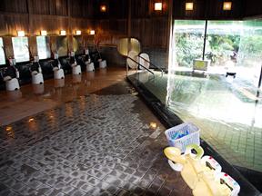 鴨川シーワールドホテル キッズへの配慮が行き届いた浴場